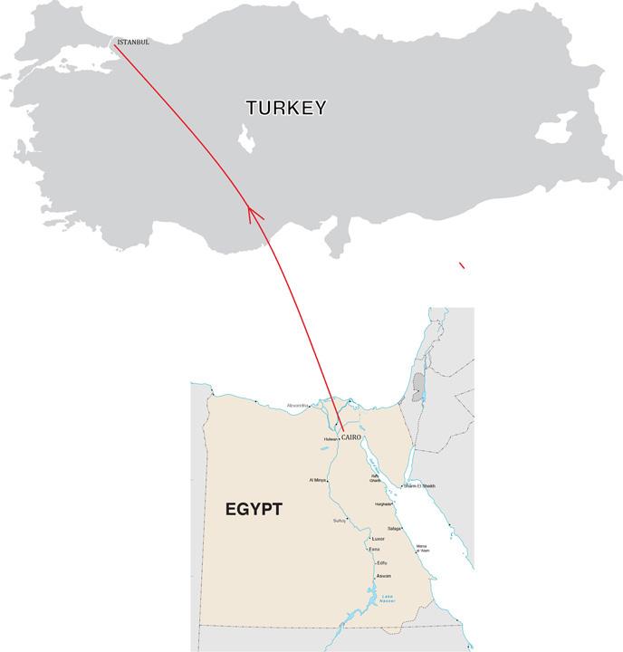 Egypt turkey discovery tour egypt turkey discovery tour map gumiabroncs Choice Image
