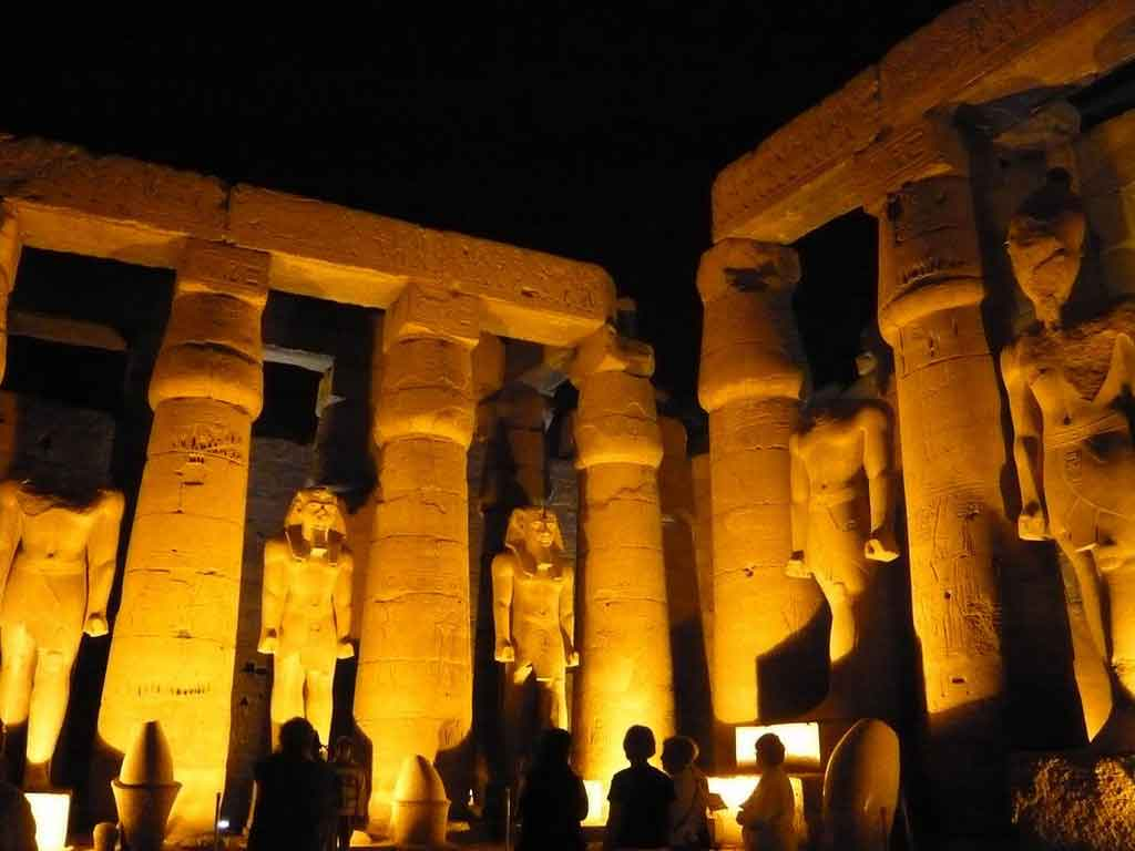 Sound Amp Light Show At Karnak Temple