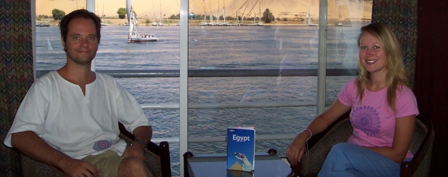 Sailing on Nile