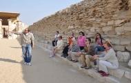Visit to Saqqara,Cairo