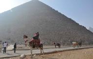 Explore Pyramids with Camel Ride,Cairo
