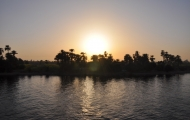 Sunset at Nile Cruise