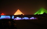 Sound & Light Show at Pyramids